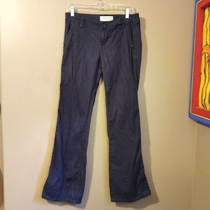 *5 for $25 sale* Aeropostale blue bootcut trousers